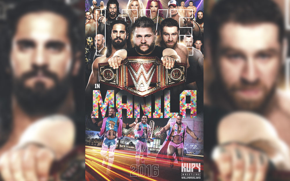 wwe manila wallpaper