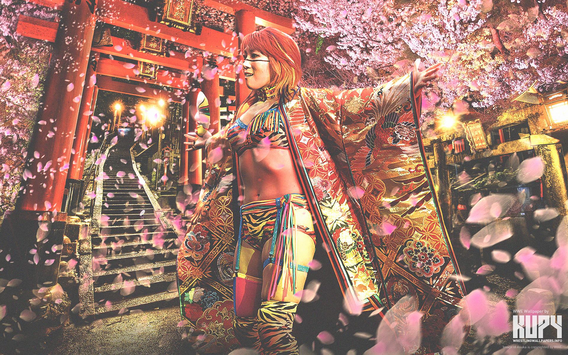 NEW NXT Asuka Wallpaper