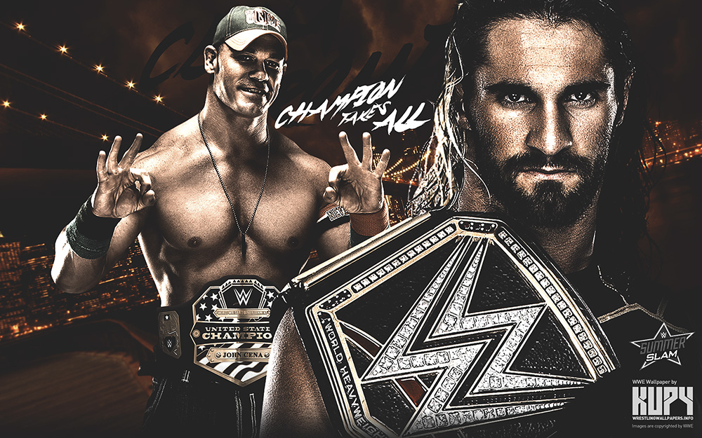 Cena Rollins Wallpaper Champion