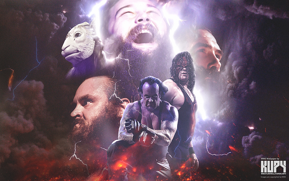 NEW Undertaker Kane Brothers Of Destruction Wallpaper