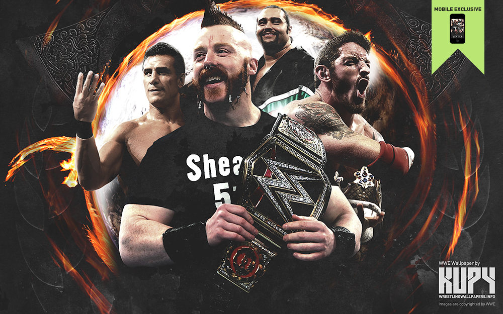 wwe league of nations wallpaper