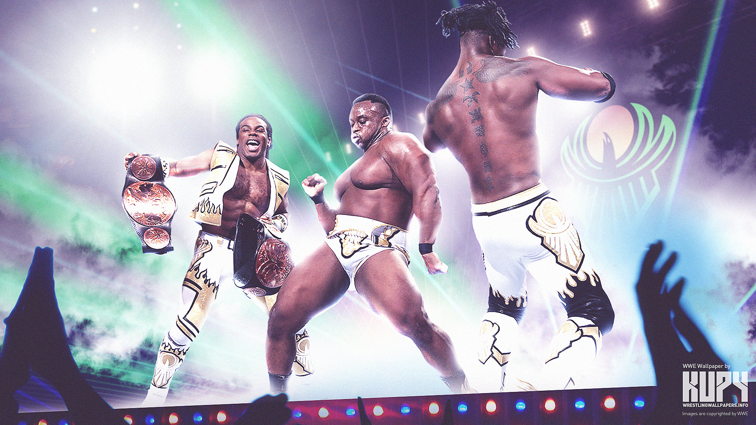 New 2015 Wwe New Day Wallpaper Kupy Wrestling Wallpapers The