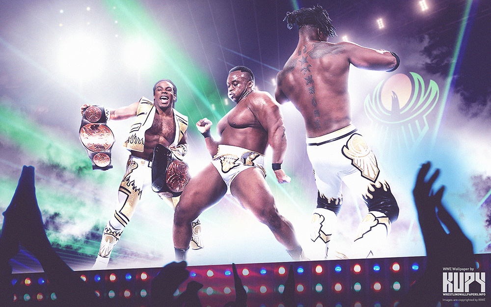 new day wwe wallpaper