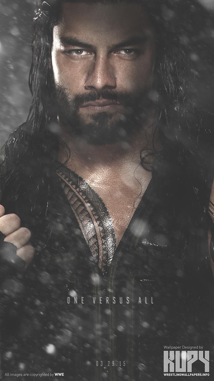 NEW Roman Reigns Road To WrestleMania 31 Wallpaper