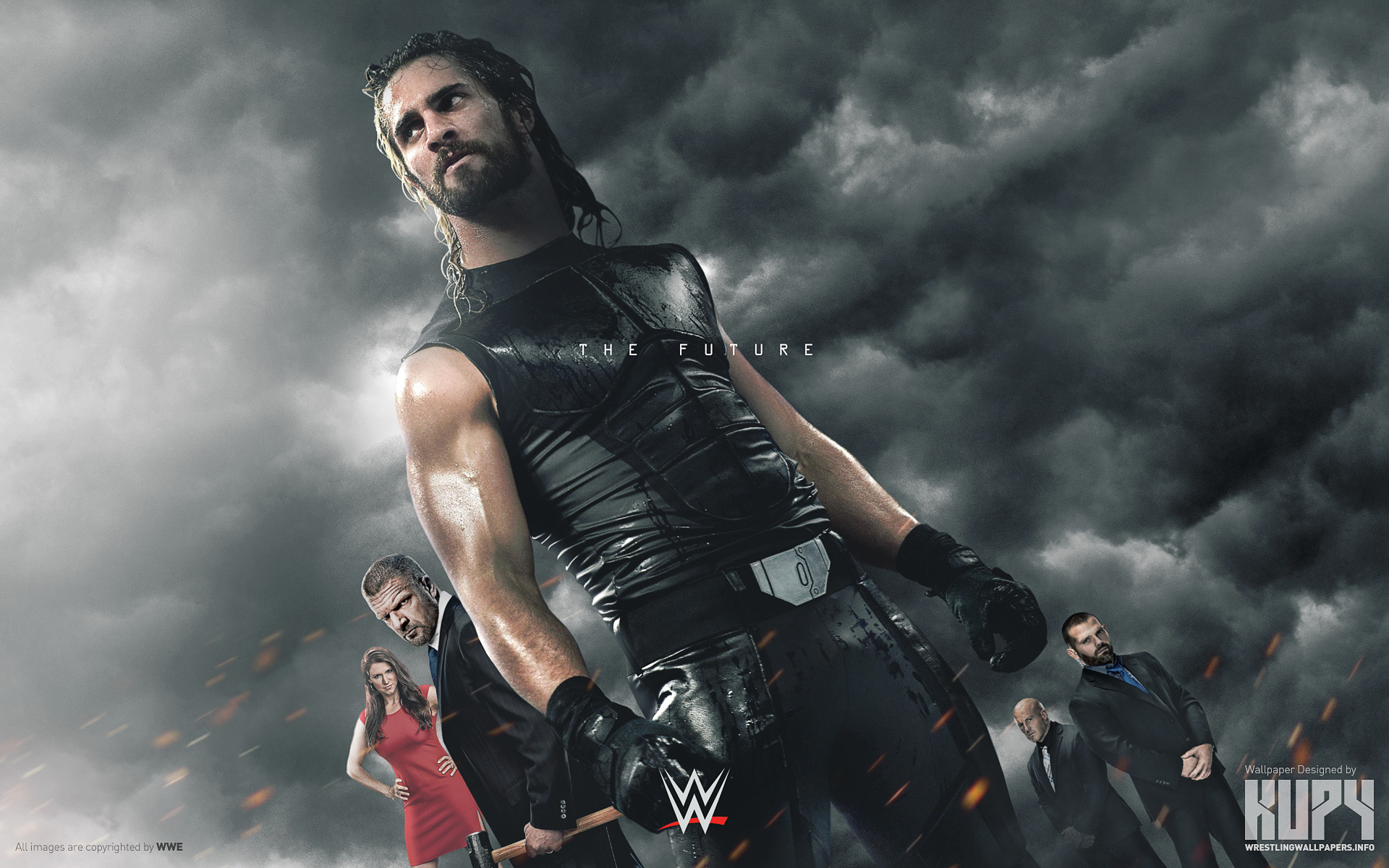 what are some of the best wrestling related wallpapers pictures