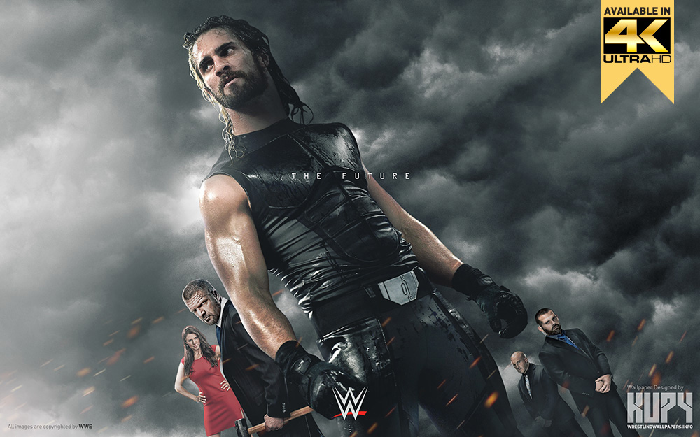 New The Future Of The Wwe Seth Rollins Wallpaper Kupy Wrestling
