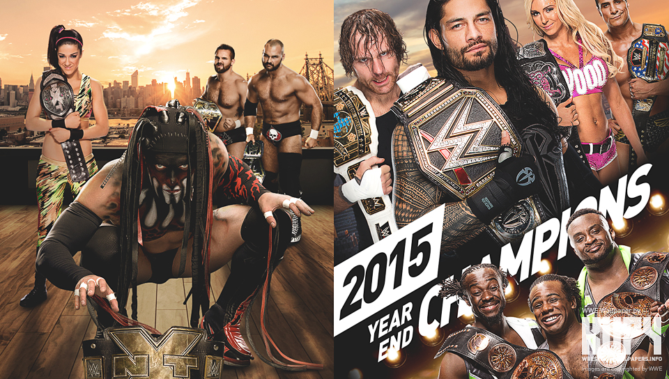 new 2015 year end champions wallpaper kupy wrestling wallpapers