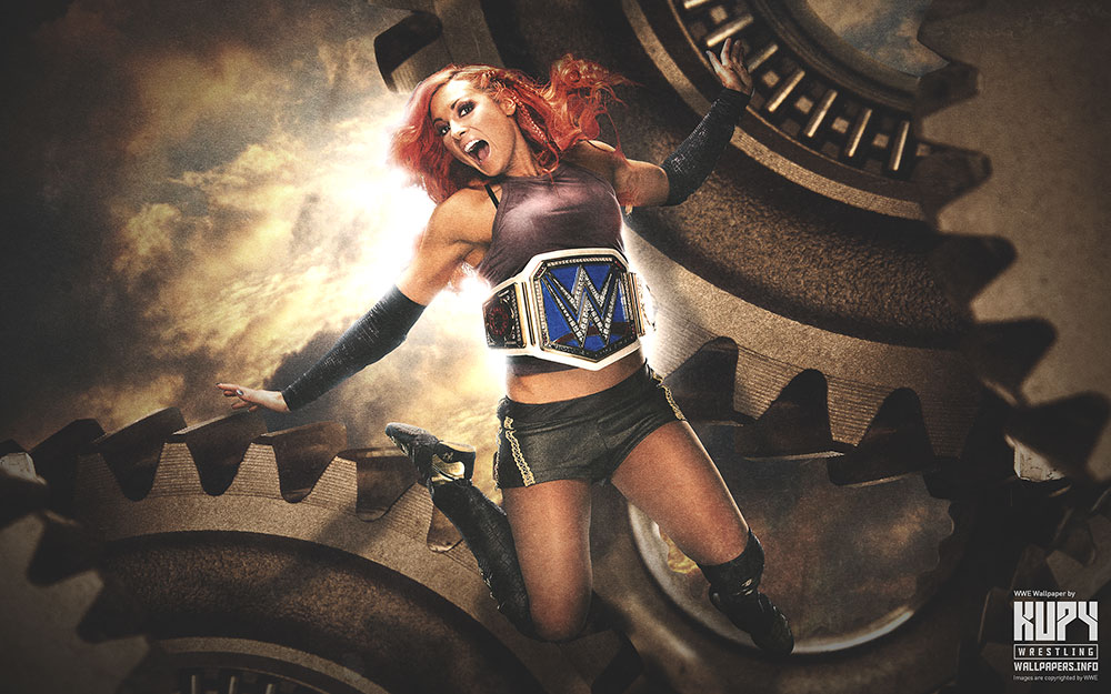 becky lynch smackdown wallpaper