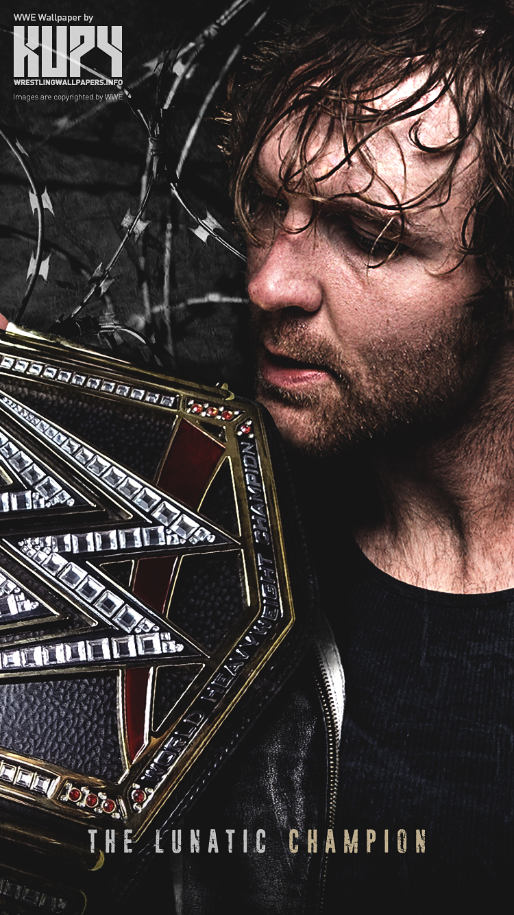 New Dean Ambrose Wwe World Heavyweight Champion Wallpaper Kupy