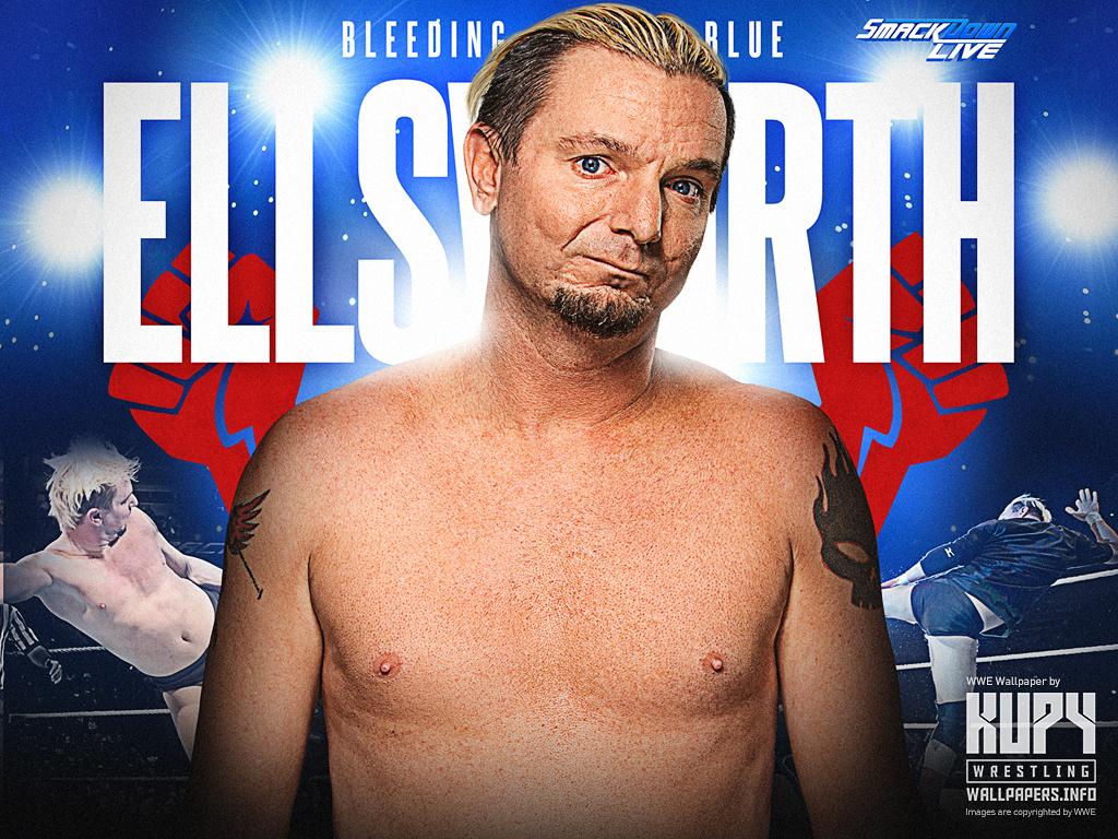 New Bleeding Blue James Ellsworth Wallpaper Kupy Wrestling