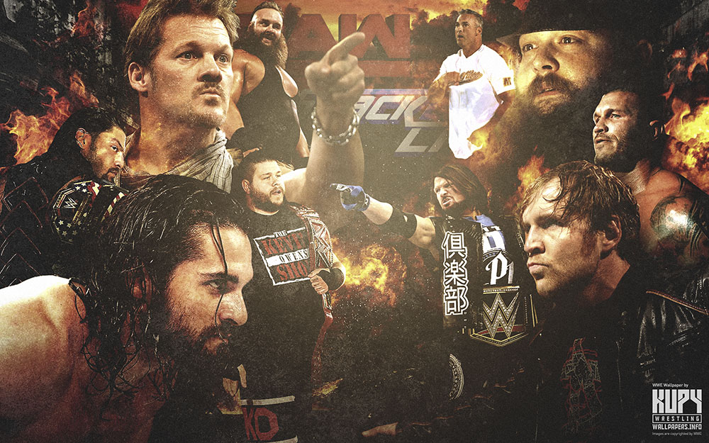 smackdown vs. raw wallpaper