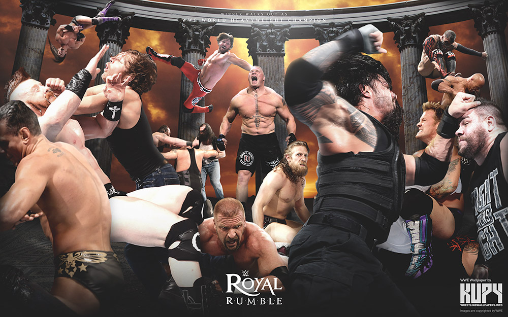 wwe royal rumble wallpaper