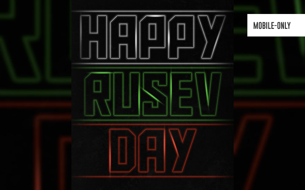 rusev wallpaper