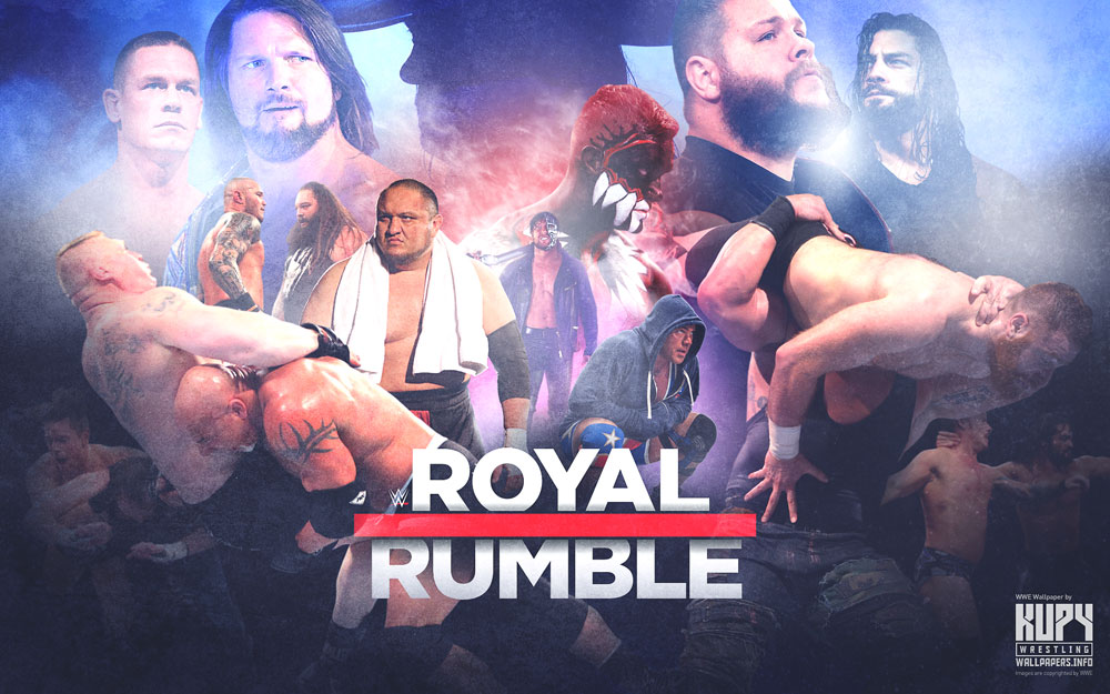 royal rumble wallpaper