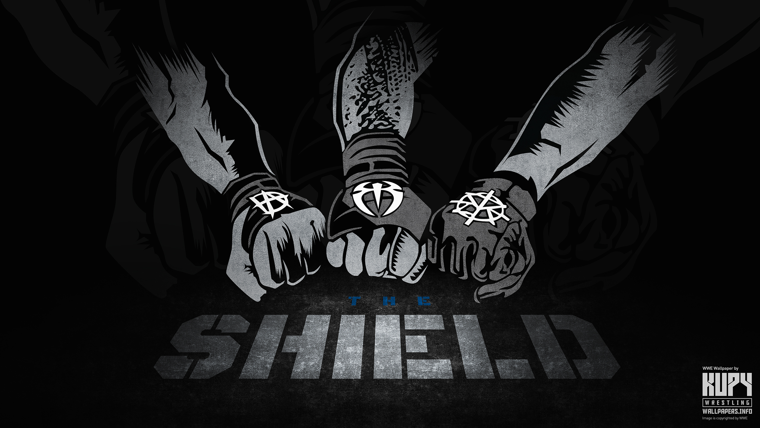 New The Shield Reunited Wallpaper Kupy Wrestling Wallpapers The