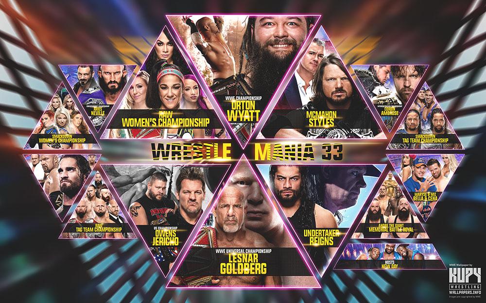 wrestlemania wallpaper