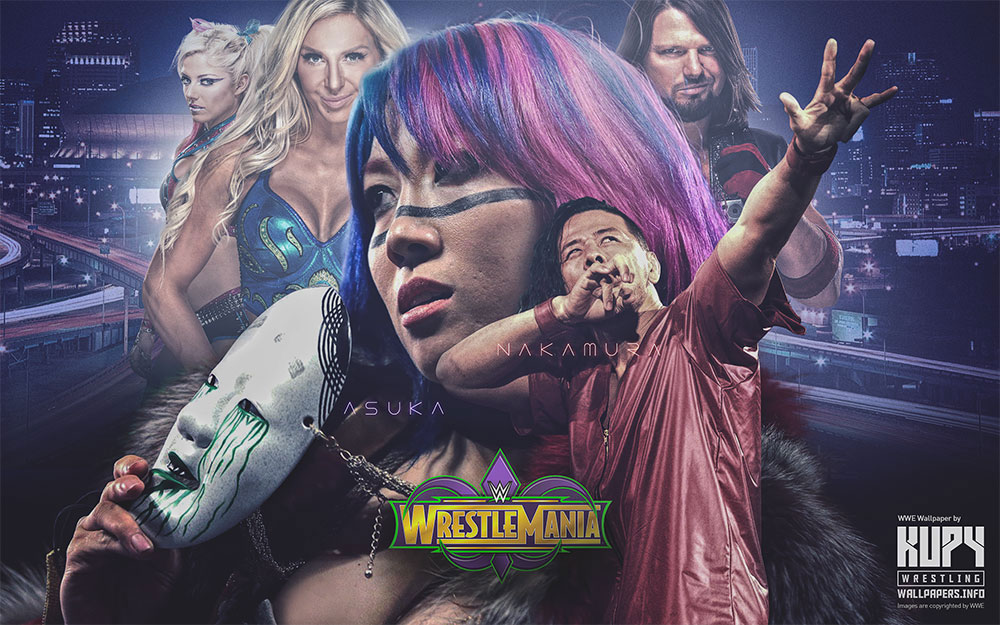 wrestlemania 34 wallpaper