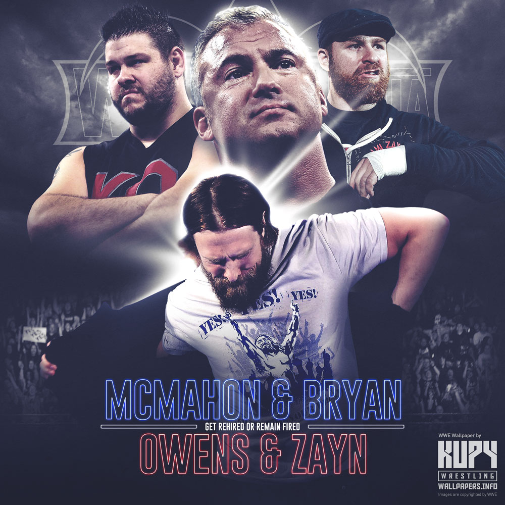 Road To Wrestlemania 34 Daniel Bryan Shane Mcmahon Vs Sami Zayn