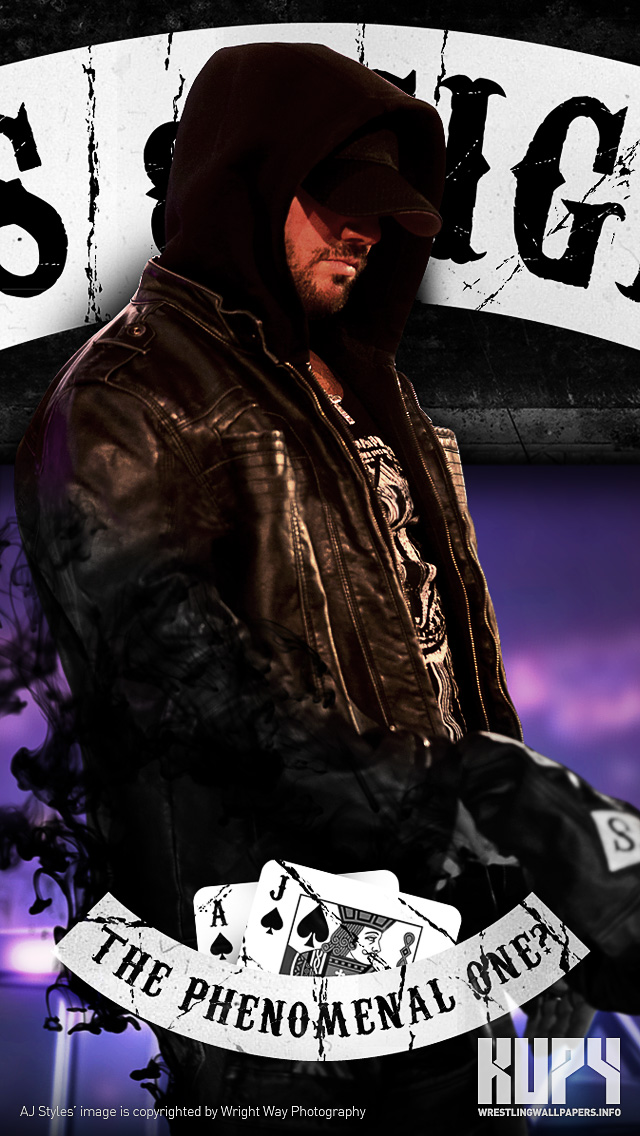 New Aj Styles Aces Eights Wallpaper Kupy Wrestling Wallpapers