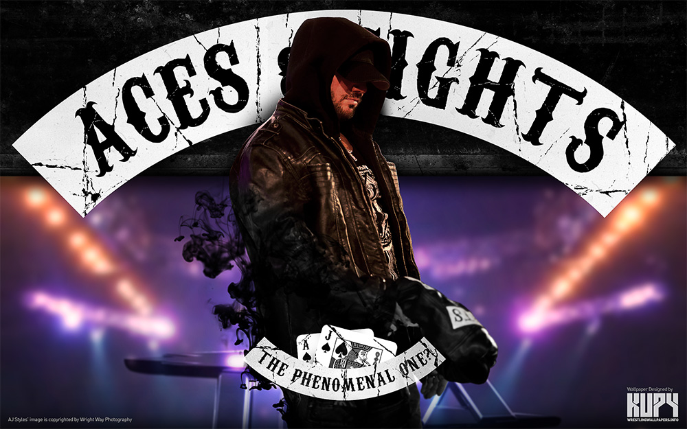 aj styles aces and eights wallpaper