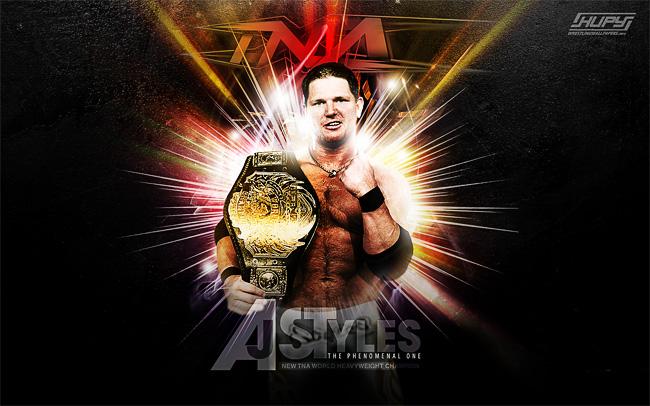 TNA AJ Styles wallpaper