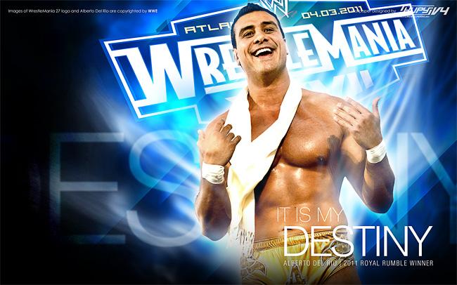 Alberto Del Rio Wrestlemania wallpaper