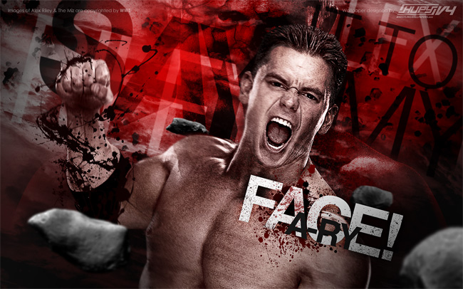 Alex Riley vs. The Miz wallpaper