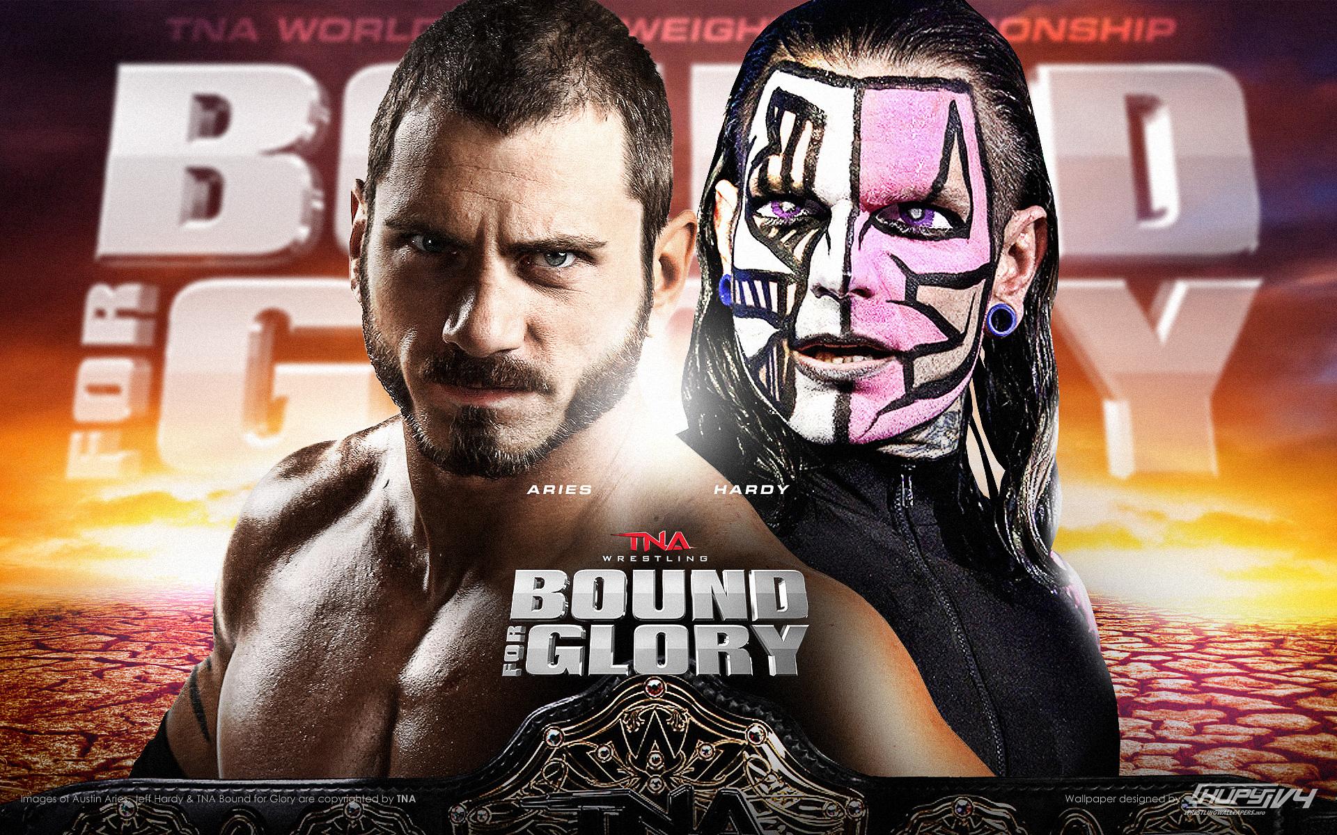 TNA World Heavyweight Championship Austin Ariesc Vs Jeff Hardy Wallpaper 1920x1200