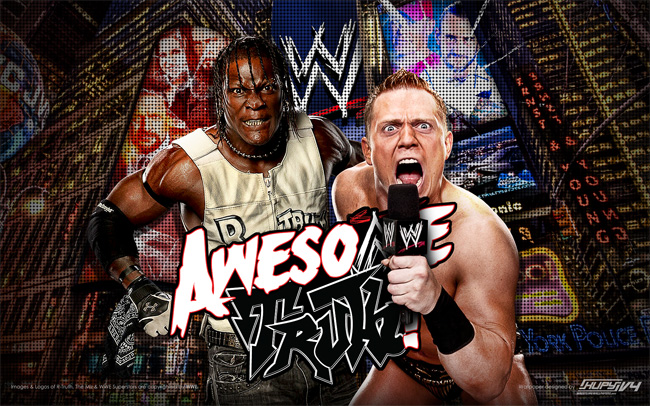 Miz and R-Truth wallpaper