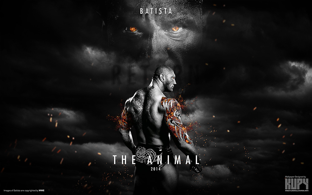 batista return wallpaper