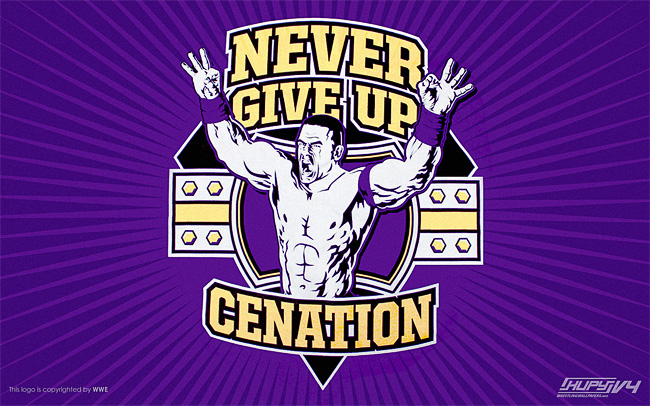 Never Give Up John Cena wallpaper