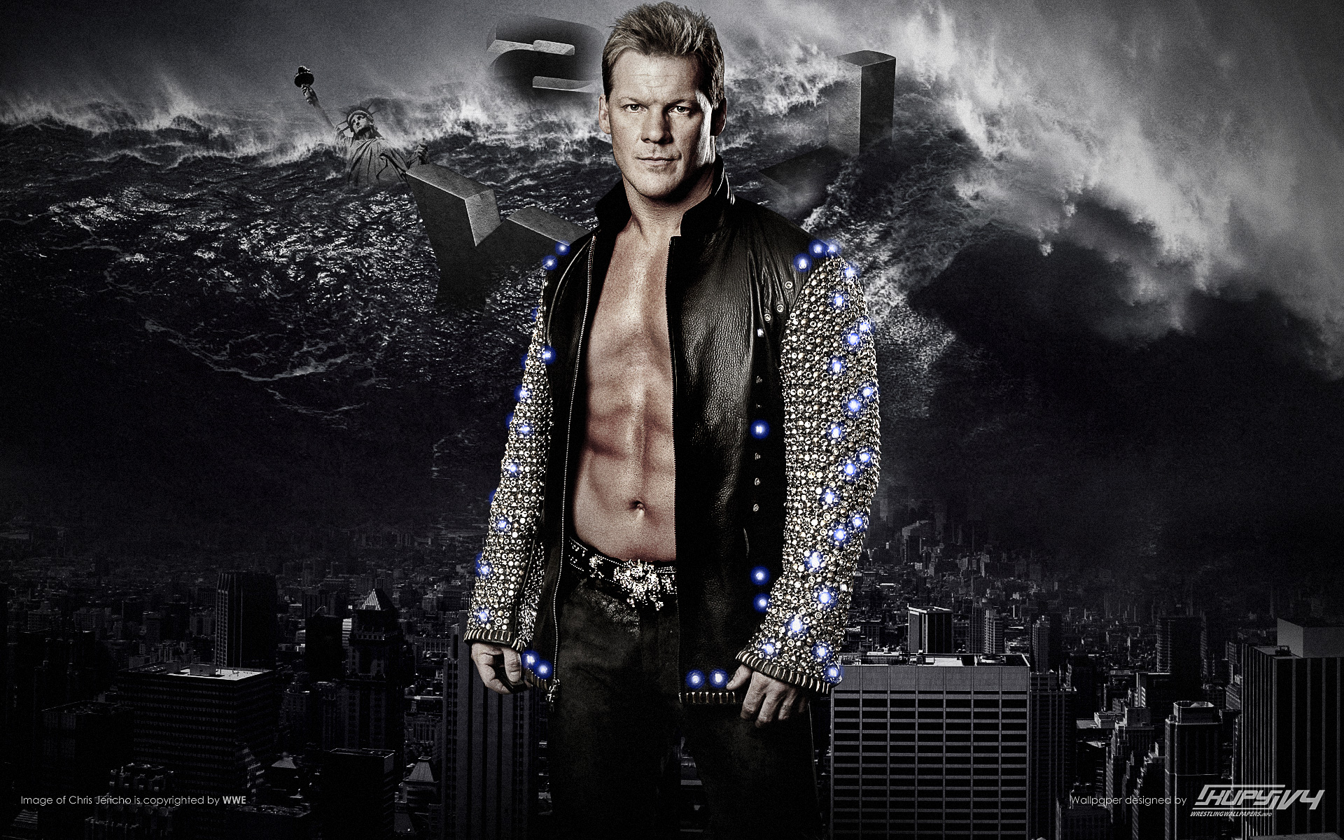 new y2j 2012 chris jericho wallpaper kupy wrestling