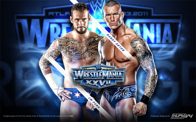 wrestlemania 27 rko cm punk wallpaper