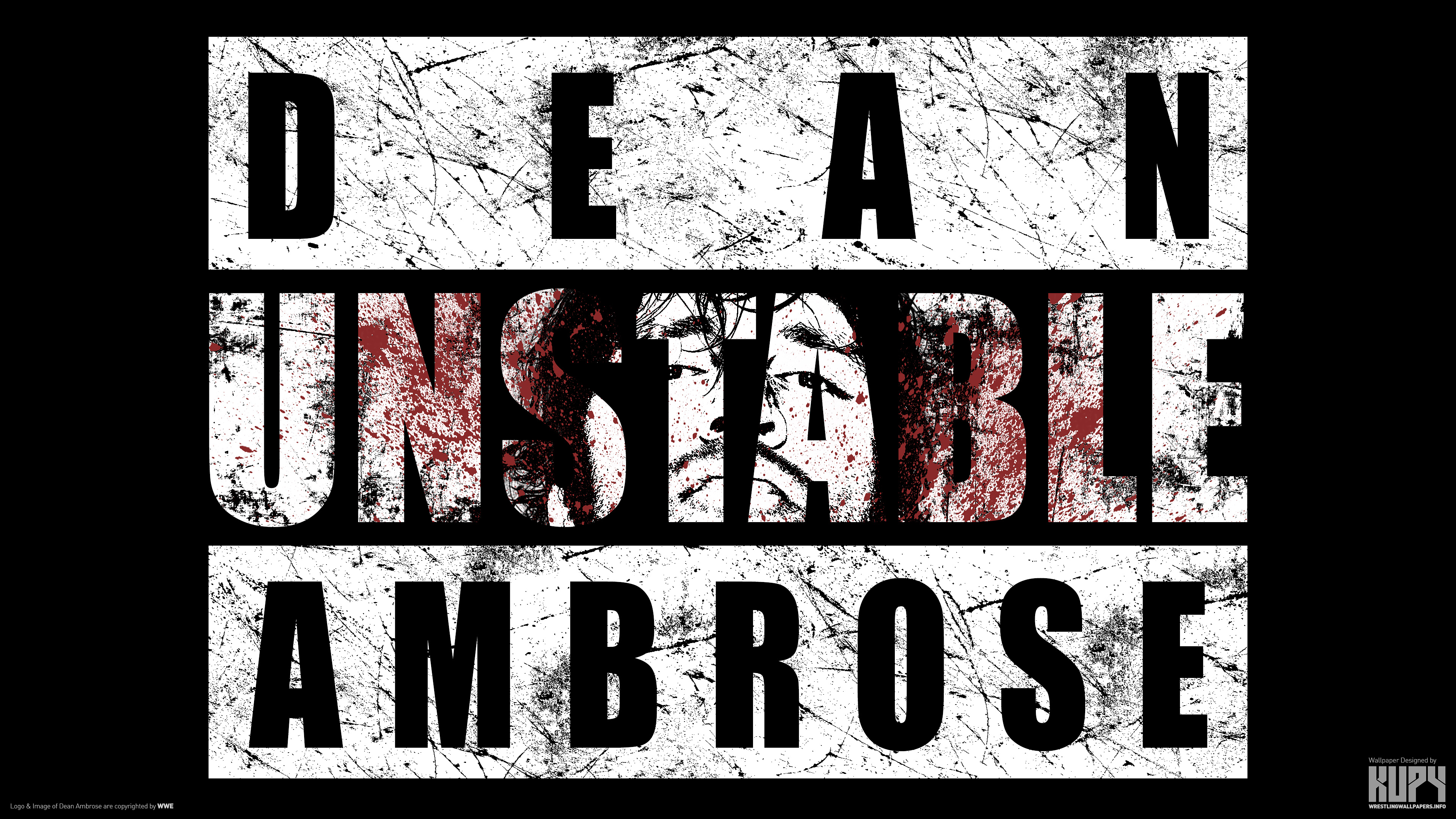 NEW Dean Ambrose Unstable Wallpaper Available In 4K Resolution