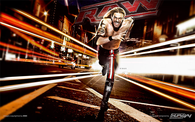 Edge WWE Raw wallpaper