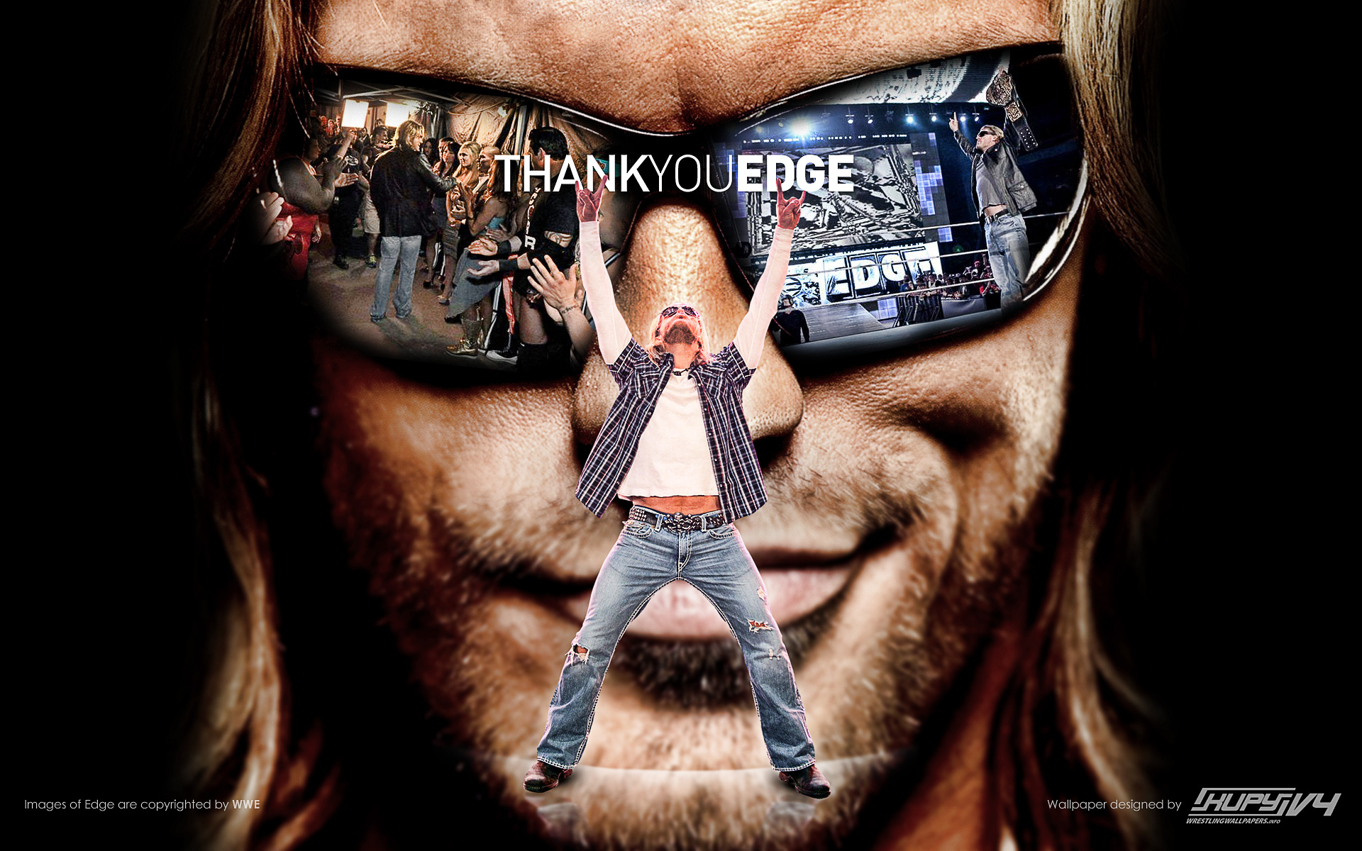 Edge Tribute Wallpaper Kupy Wrestling Wallpapers The Latest