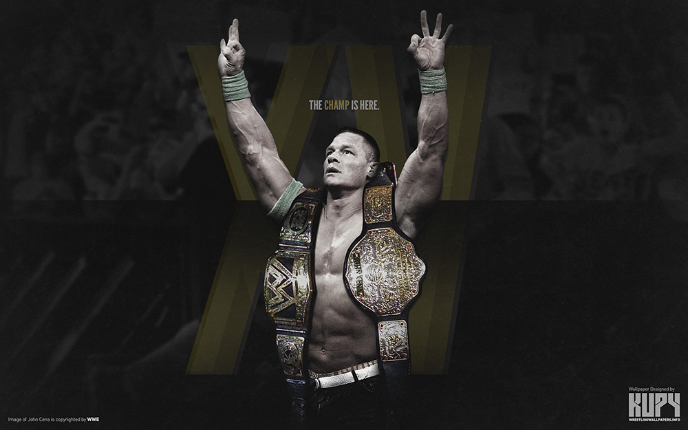 Cena Wallpaper WWE World Heavyweight Champion John