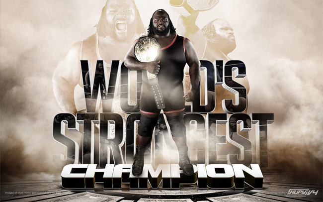 Mark Henry world heavyweight champion wallpaper