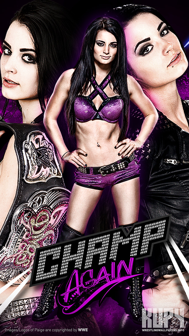 NEW NXT Womens Champion AND WWE Divas Paige Wallpaper
