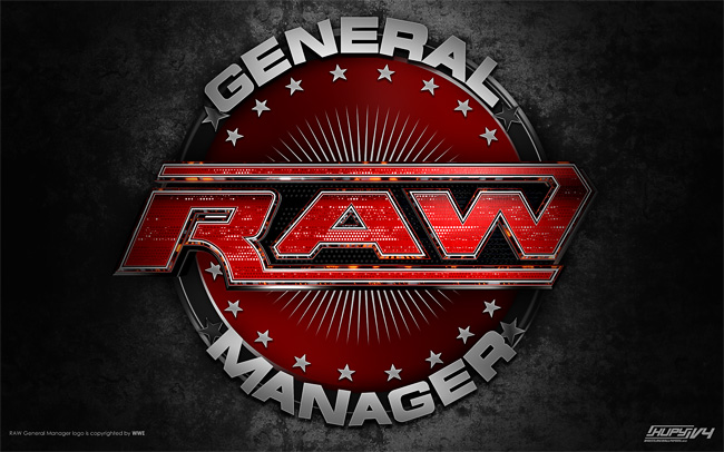 wallpaper of wwe raw. RAW General Manager wallpaper