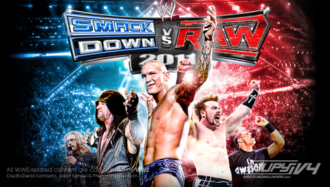 smackdown wallpaper. PSP wallpaper