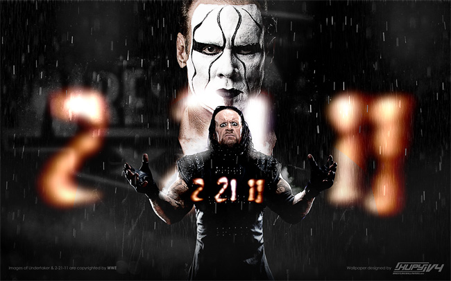 Undertaker vs. Sting wallpaper