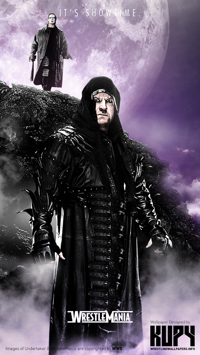 NEW WrestleMania XXX Dream Match Sting Vs The Undertaker Wallpaper