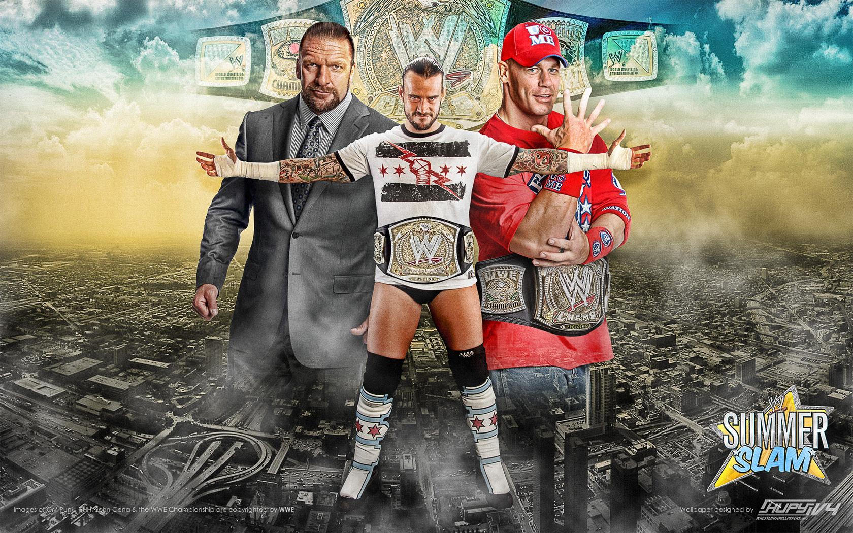 Wwe Summerslam 2011 Cm Punk Vs John Cena Undisputed Wwe