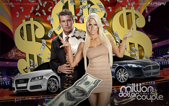 Ted DiBiase Jr. Wallpapers The Million Dollar Couple Ted Dibiase Jr and Maryse wallpaper