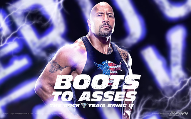 The Rock Team Bring It wallpaper