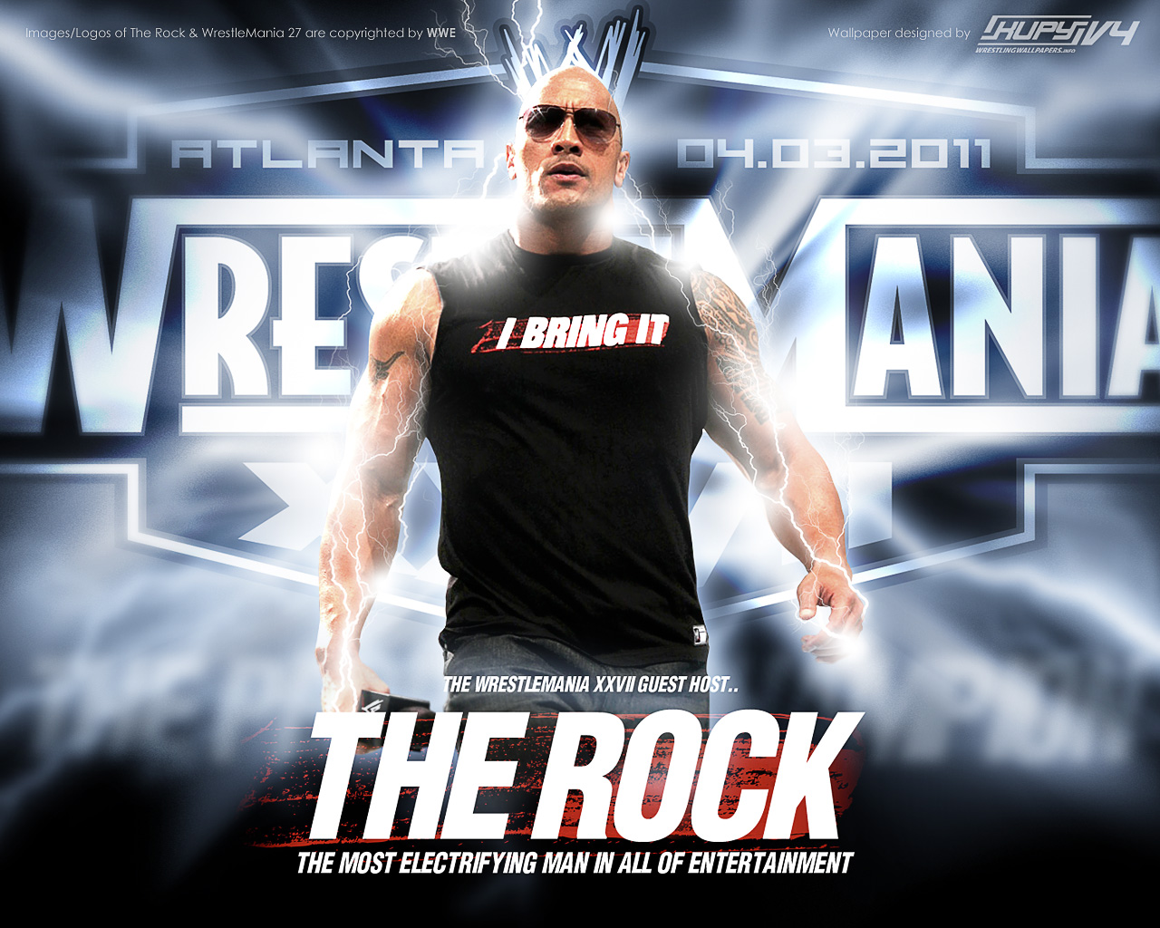 The Rock 2012 HD Wallpapers