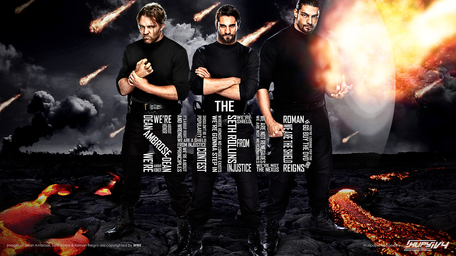New The Shield Wallpaper Kupy Wrestling Wallpapers The Latest