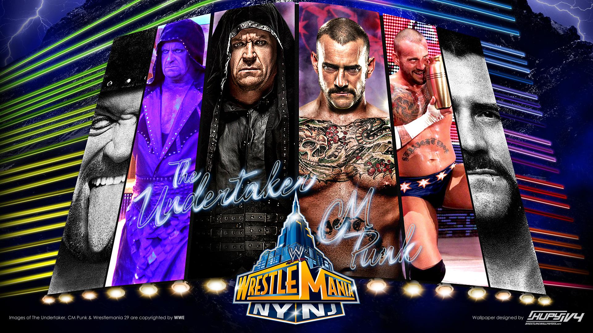 Wwe The Undertaker 1990s Wrestlemania-29-cm-punk- ...