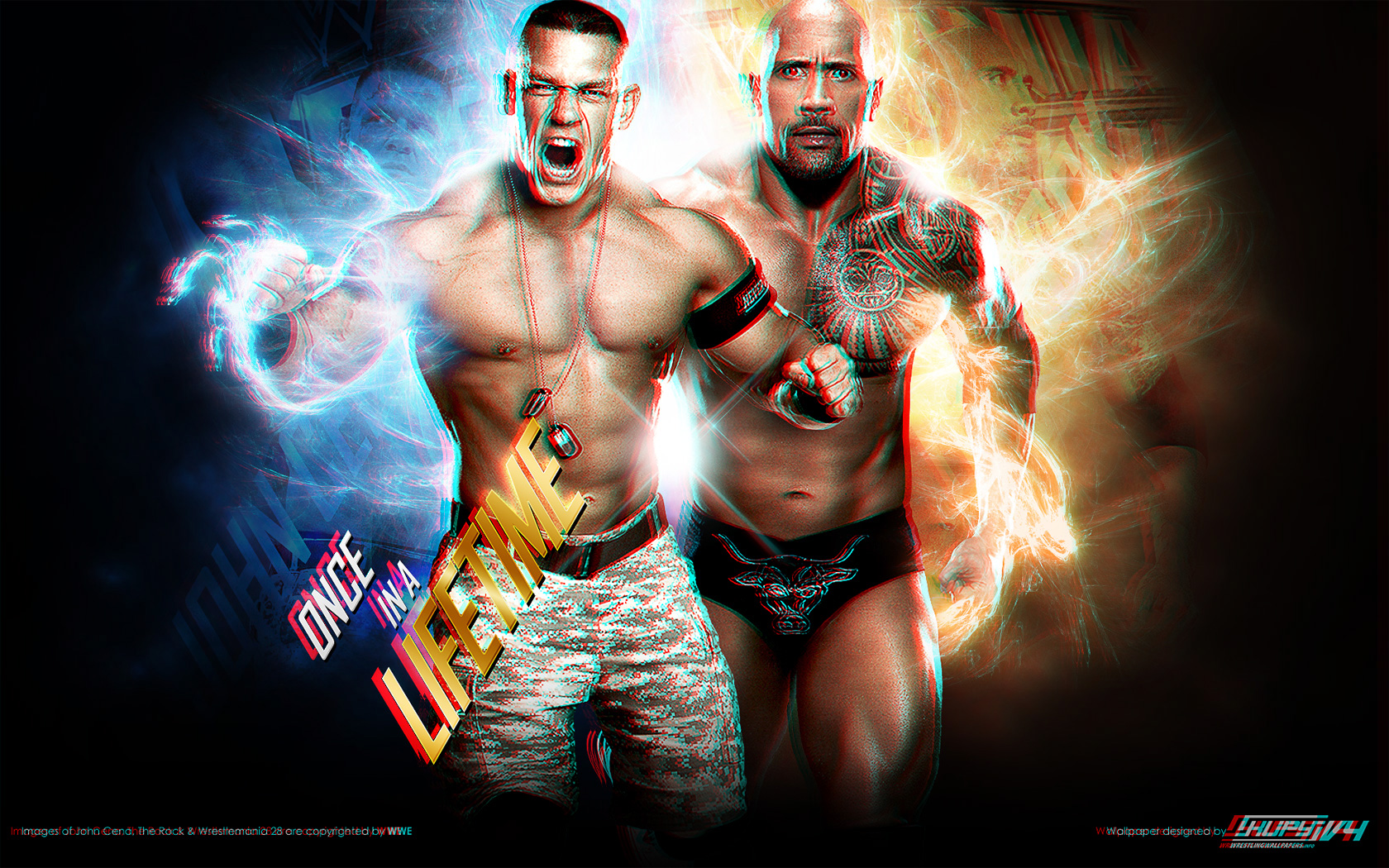 New Road To Wrestlemania 28 John Cena Vs The Rock Once In A